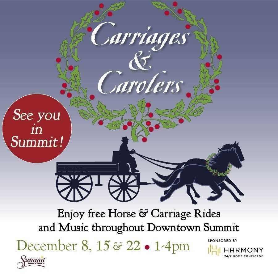 2020 Coral House Christmas Horse Wagon Ride Carolers & Carriages   TAPinto