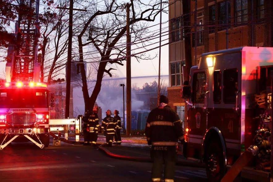 nutley fire department responds to major fire early saturday morning at avalon apartments in maplewood tapinto tapinto