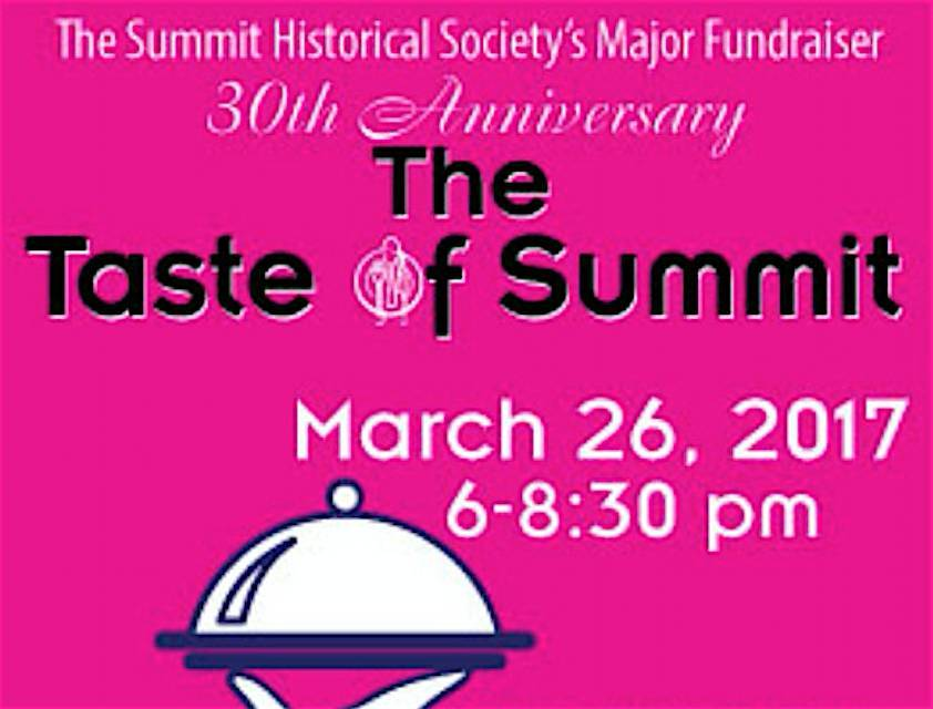 Appearance by Celebrity Chef Rossella Rago to Highlight 30th Annual 'Taste of Summit' March 26; Event Benefits Summit Historical Society