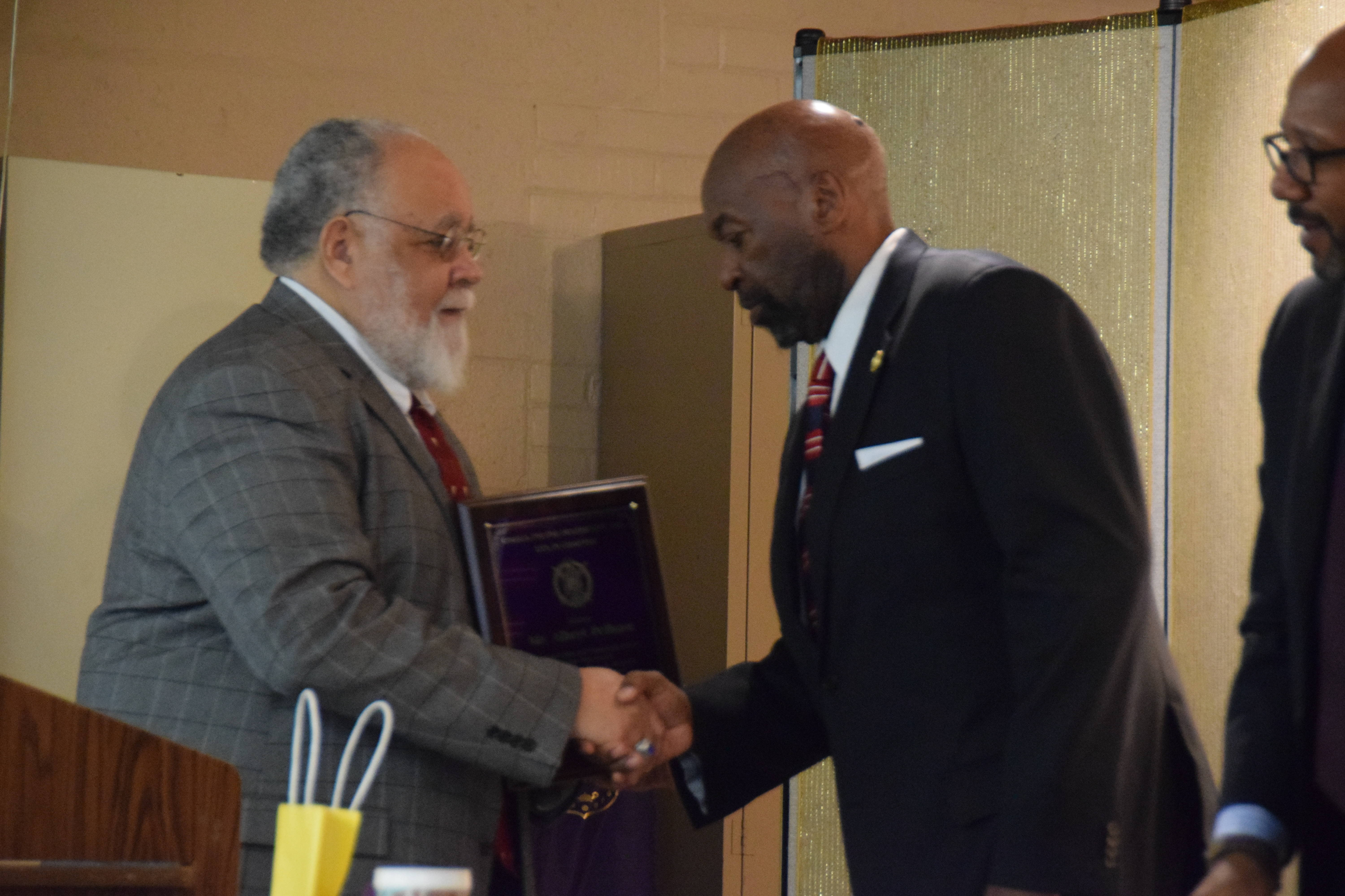 Hamm Delivers Keynote at Omega Psi Phi MLK Breakfast; Local Leaders Honored
