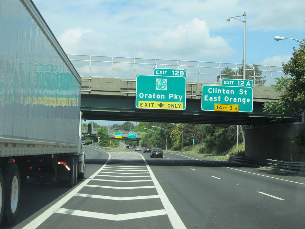 I 280 Eastbound Ramp To Garden State Parkway Interchange 145 Emergency Closure In East Orange