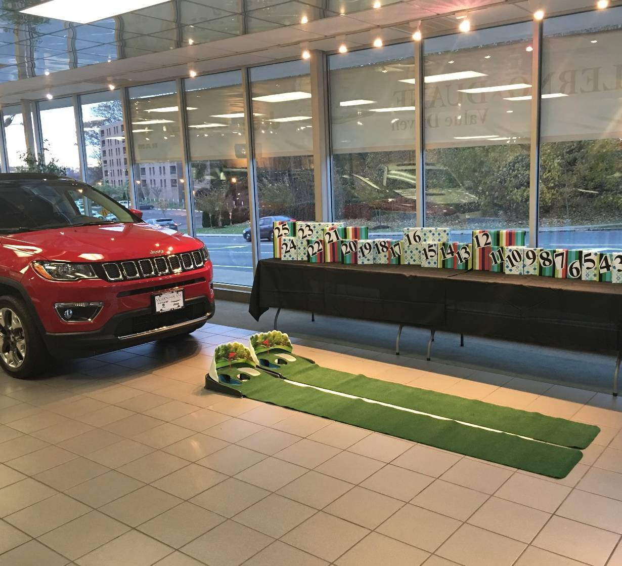 Hilltop Chrysler Jeep Dodge Ram: Drive For Show, Putt For Even More: Salerno Duane In