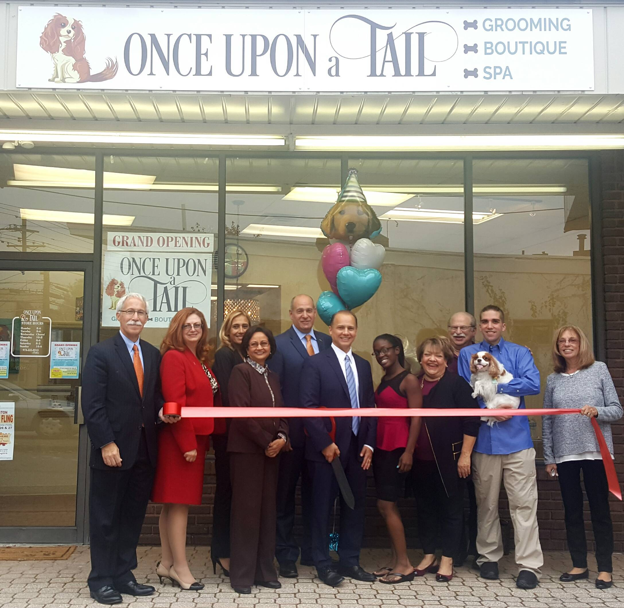 west orange native opens new pet boutique and spa once upon a tail in livingston west orange. Black Bedroom Furniture Sets. Home Design Ideas