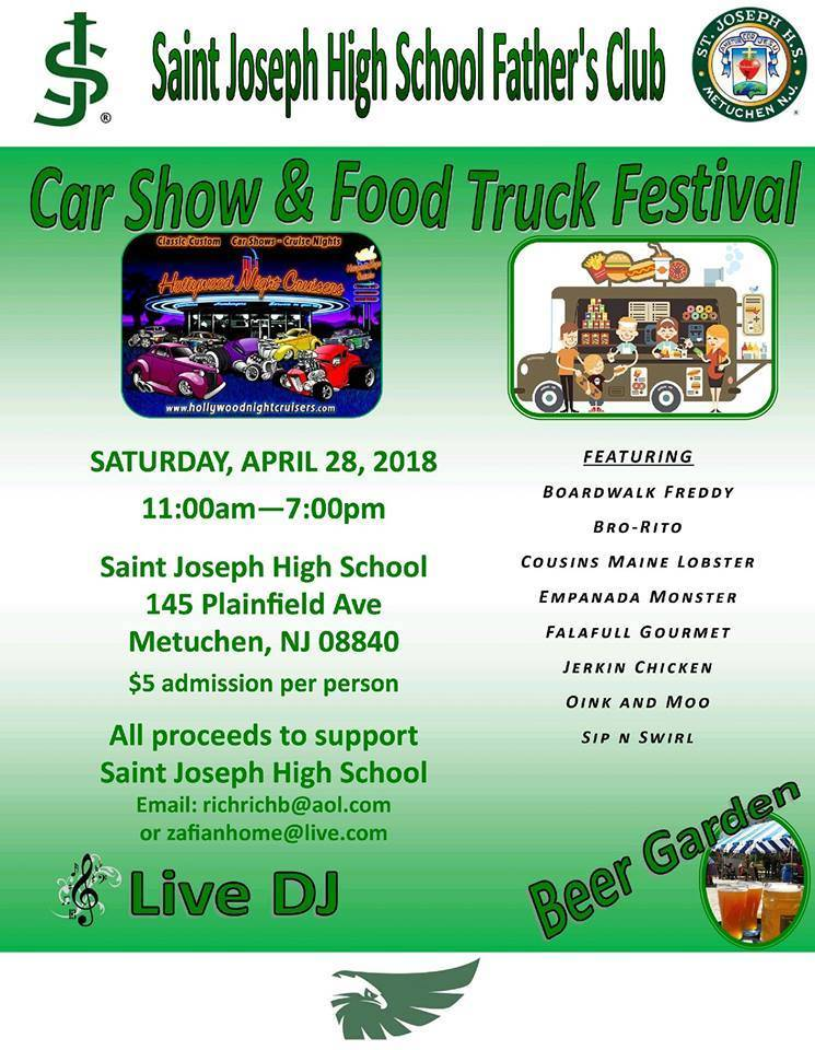 Saint Joseph High School Car Show and Food Truck Festival - TAPinto