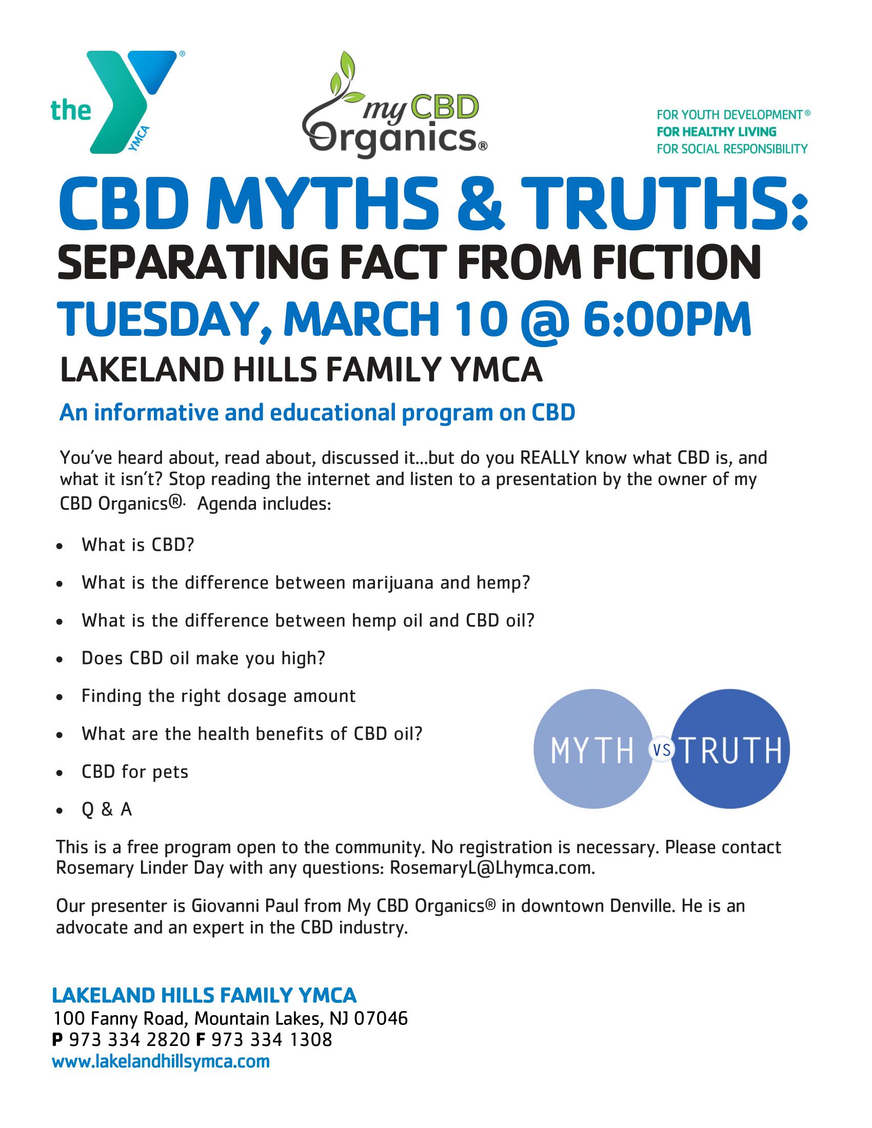 CBD Facts vs. CBD Myths - Direct CBD Online