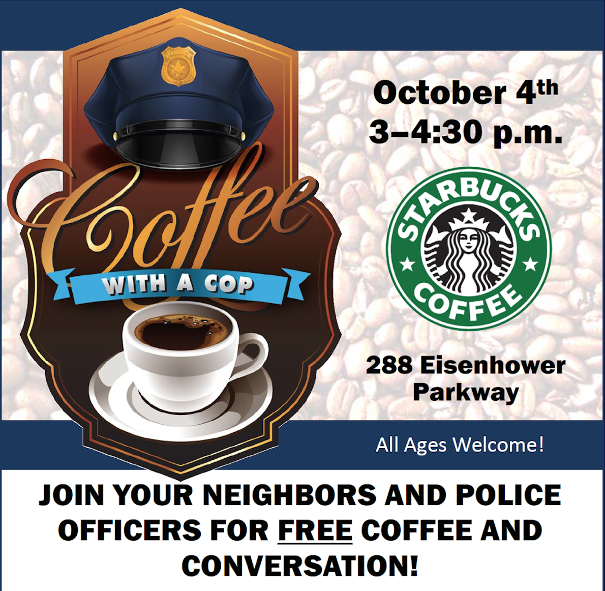 'Coffee With A Cop' Allows Community To Meet Morgan Park Police