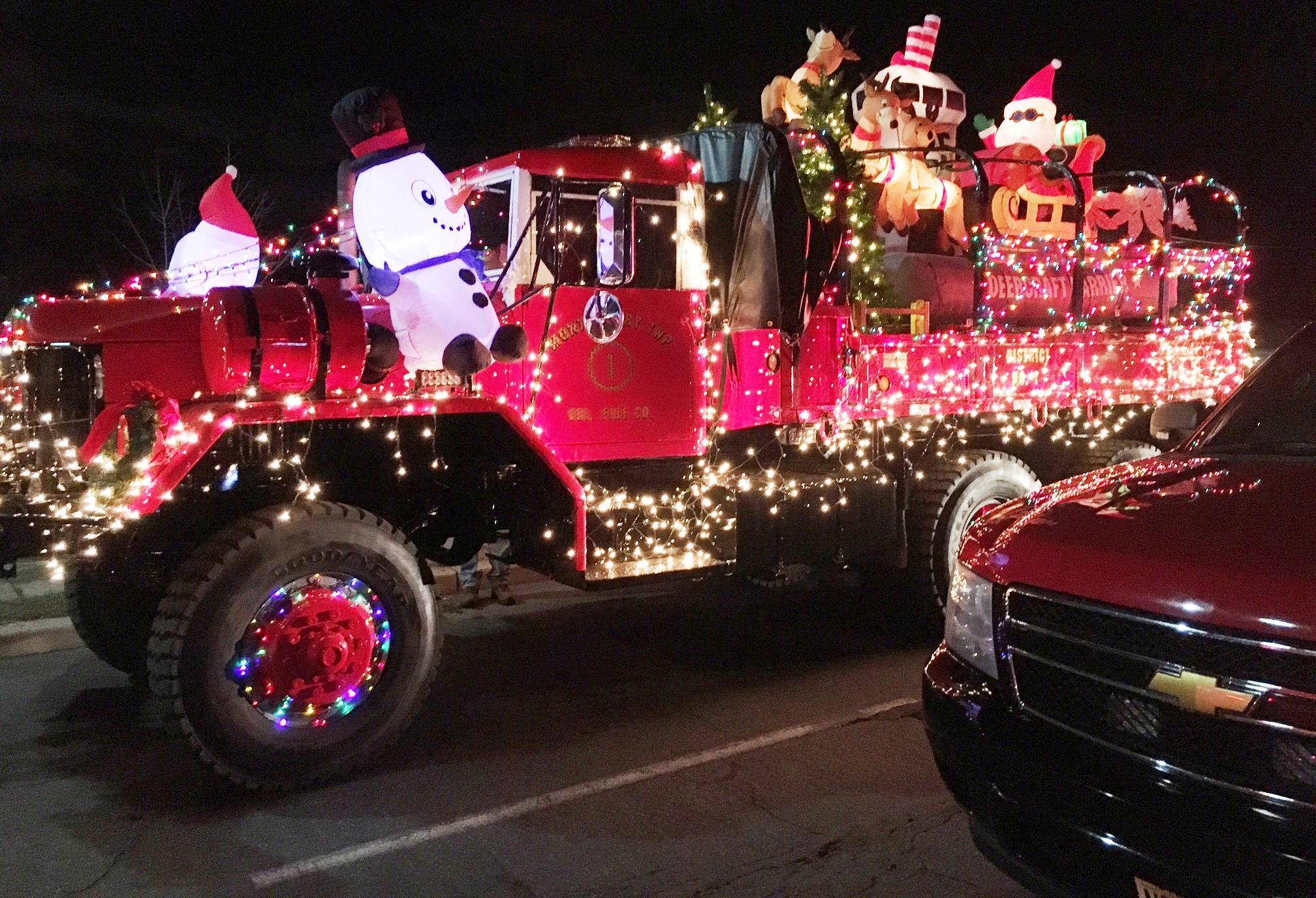 Firefighters Light Up the Town in Somerville's V Annual Holiday ...