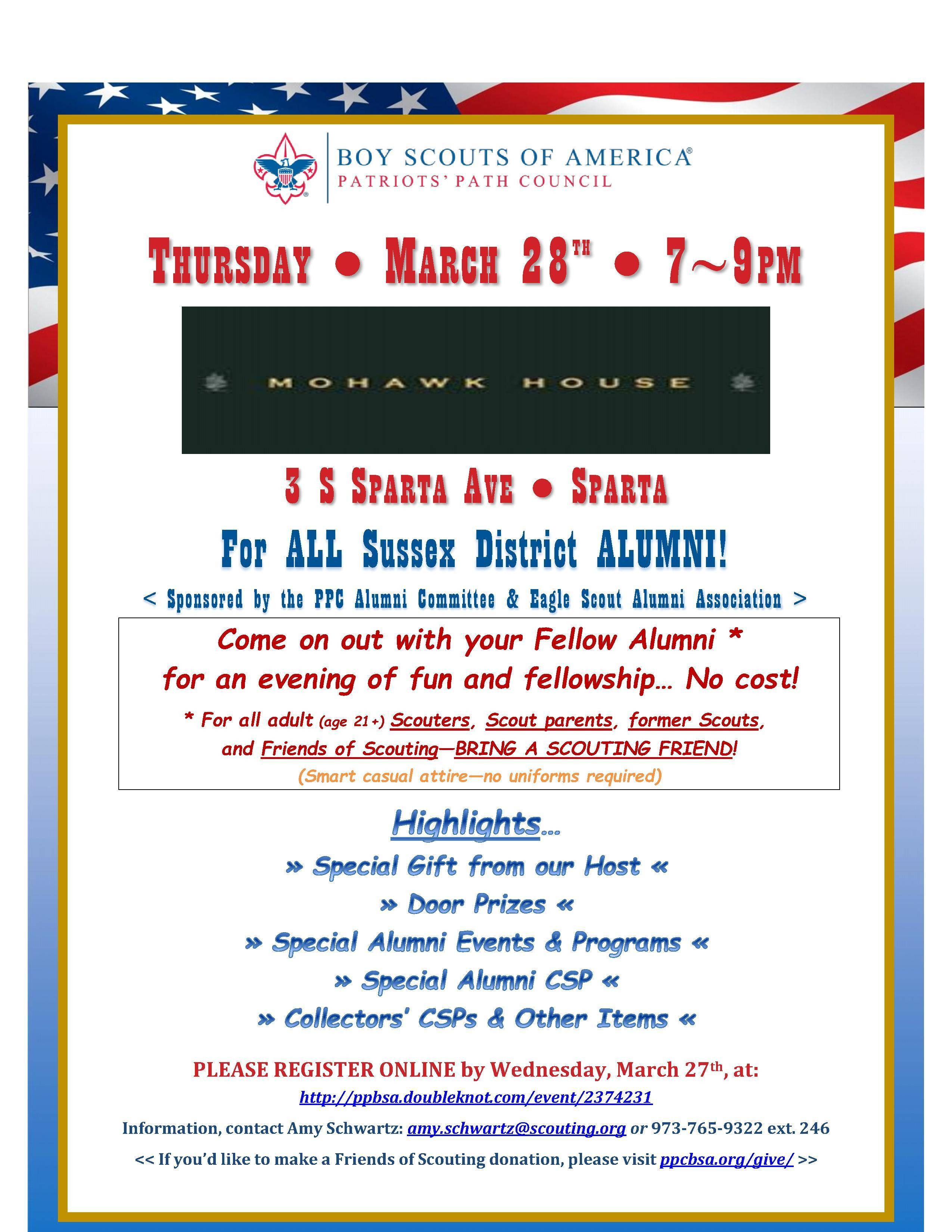 Sussex District Boy Scouts of America Alumni Gathering - TAPinto