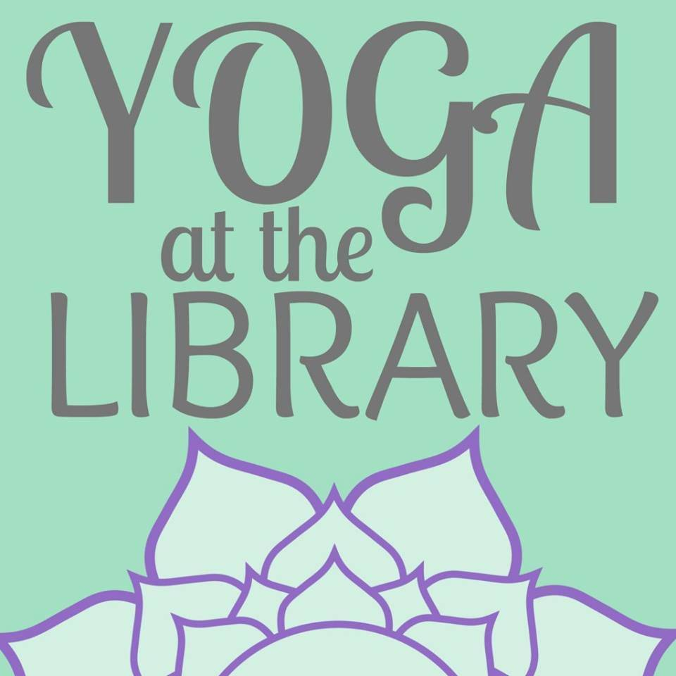 Yoga at the library starting again wednesday sept 7th