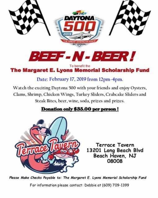 Margaret E Lyons Memorial Scholarship Fund Beef And Beer Fundraiser