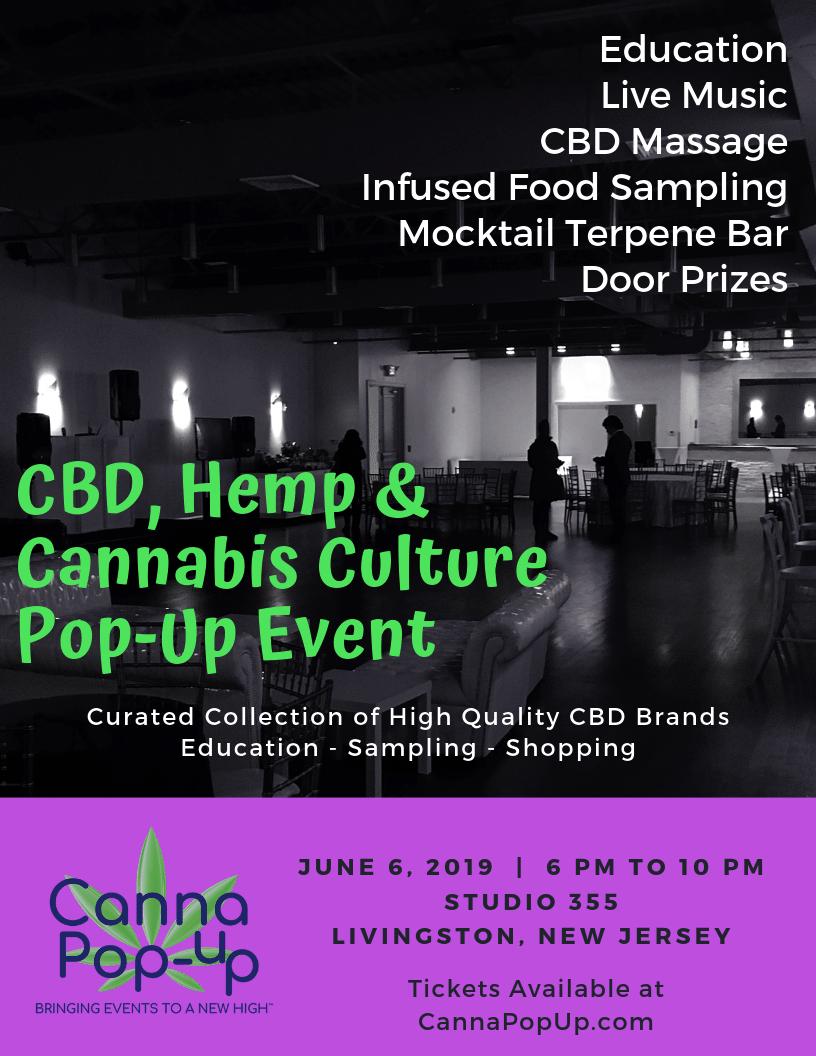 CBD, Hemp and Cannabis Culture Health & Wellness Pop-Up Event | TAPinto