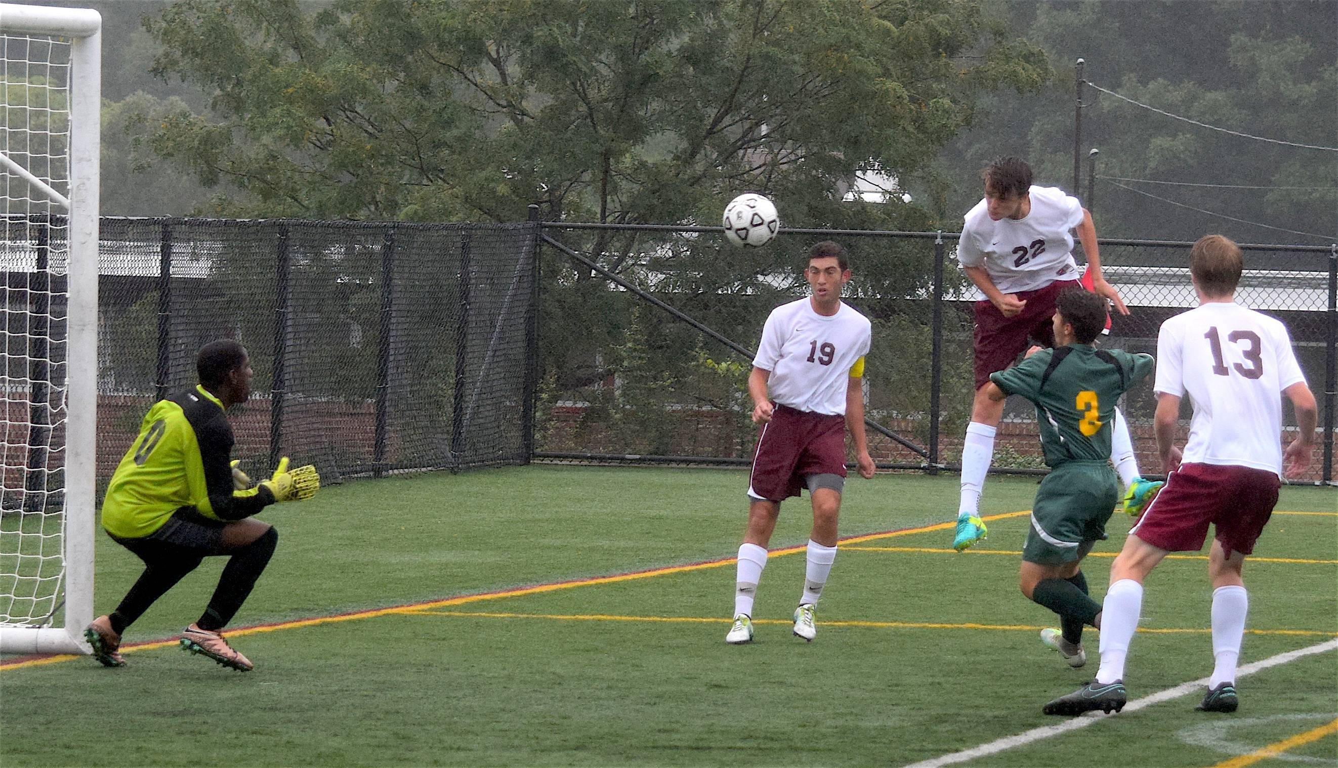 summit h s boys soccer opens county tourney blowout of sophomore sam burvill s towering header was saved but summit cruised to a 6 nil win over roselle catholic credits greg elliott summit