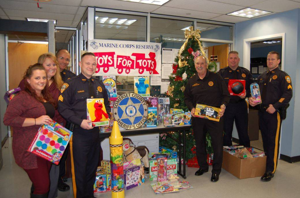 Toys For Tots Foundation Headquarters : Somerset county sheriff thanks residents businesses for