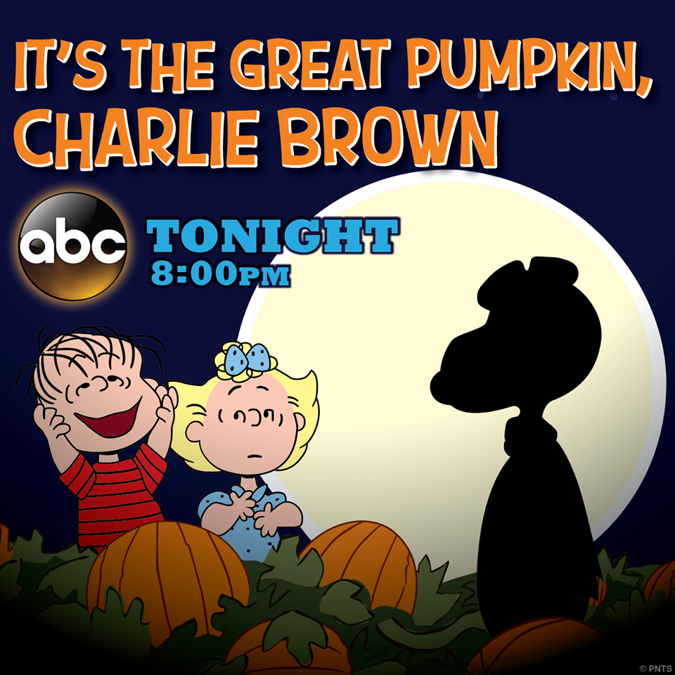 It's The Great Pumpkin Charlie Brown Quotes It's The Great Pumpkin Charlie Brown Tonight At 8 P.m Nutley