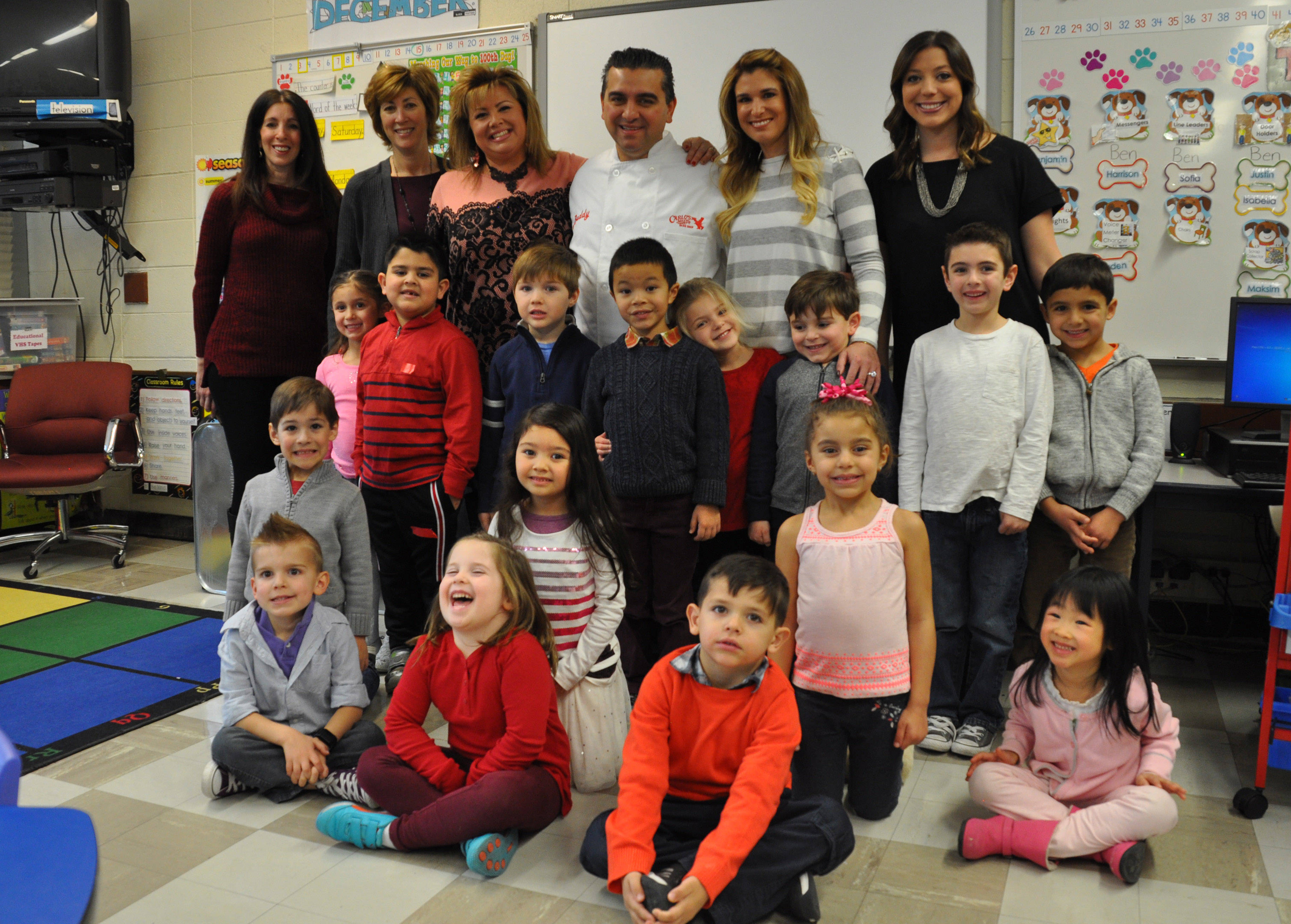 Cake Boss Makes Custom Cake for William Mason Kindergarten ...
