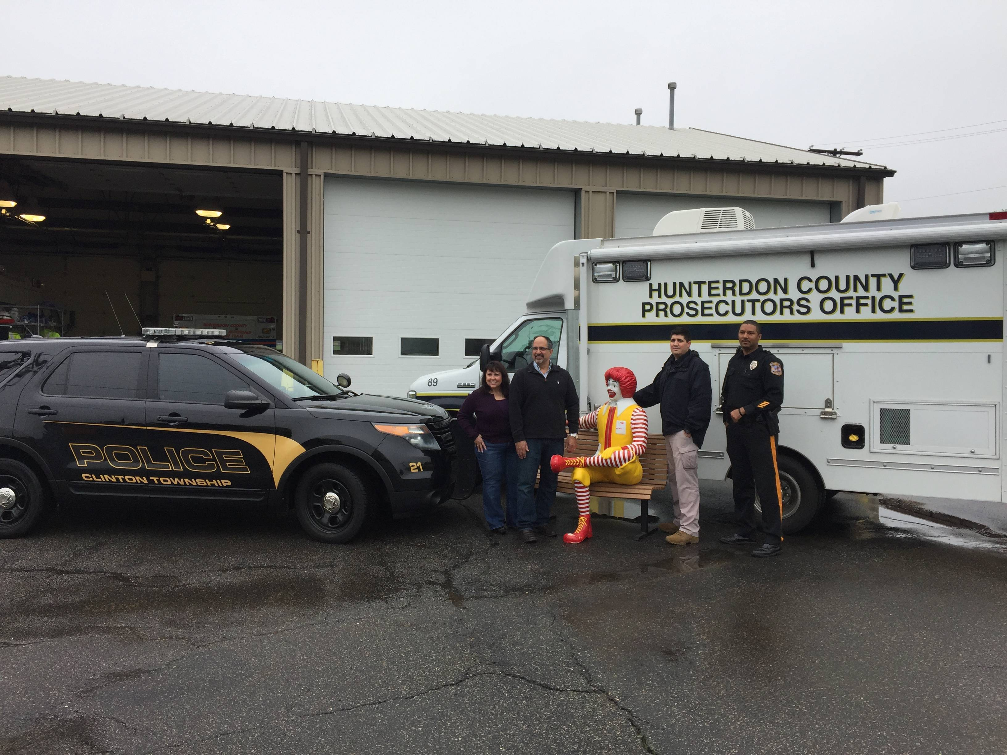 Stolen Ronald McDonald statue recovered undamaged