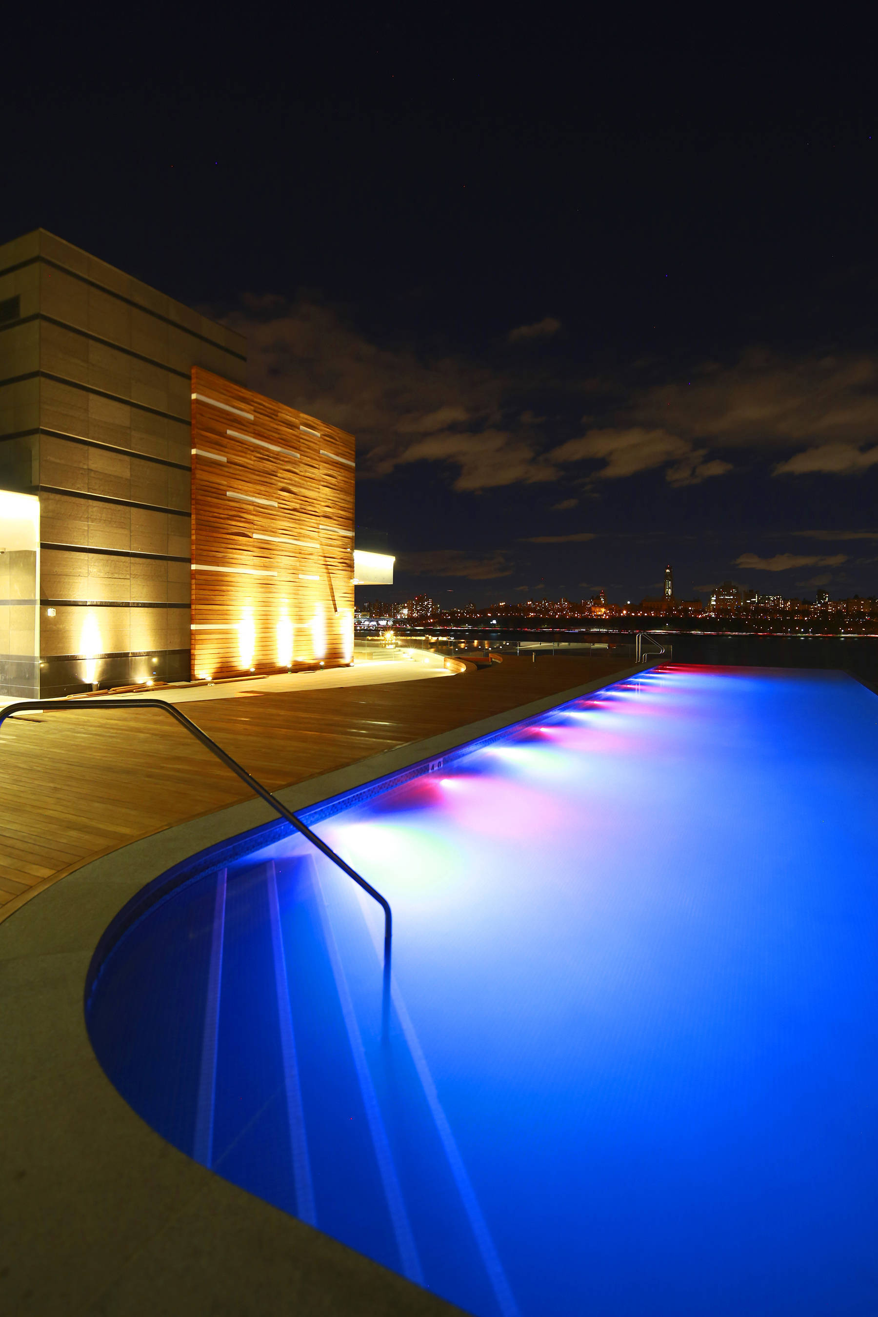 infinity pool night. Bacadfb82995dc487391_SoJoSpaClub-InfinityPool-Night.jpg Infinity Pool Night T