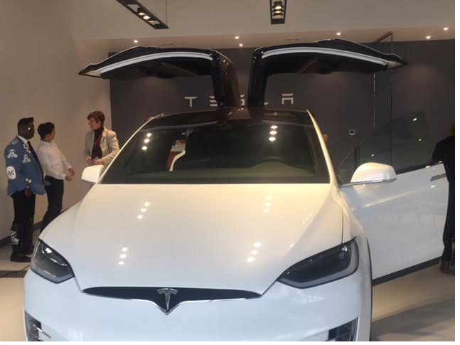 tesla officially opens its doors in springfield with ribbon cutting tapinto tapinto