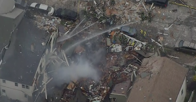 New Jersey homes destroyed in blast; no residents injured