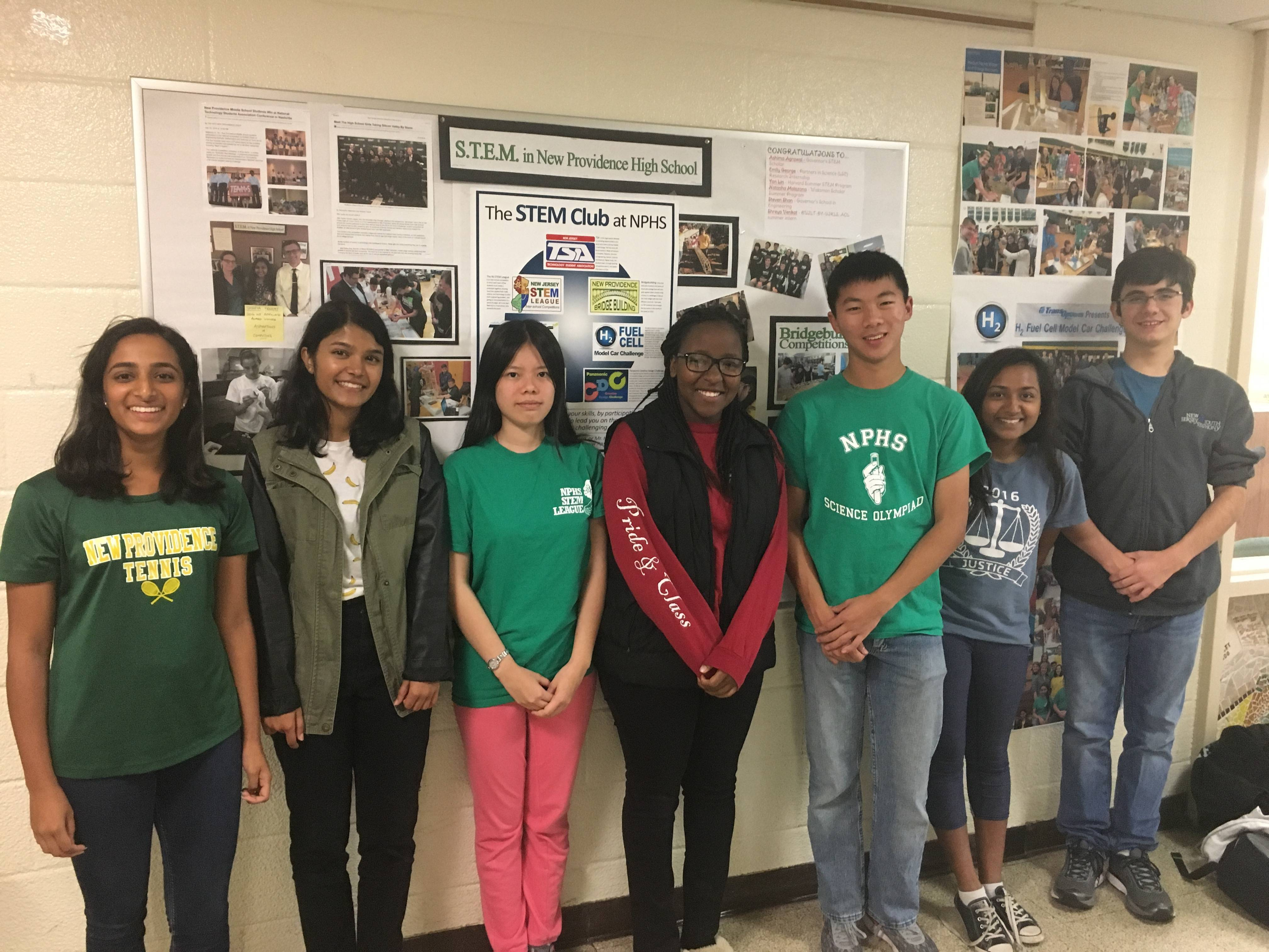 seven nphs students pursue stem related research in new jersey and new providence high school students have been pursuing stem related internships and projects outside of nphs