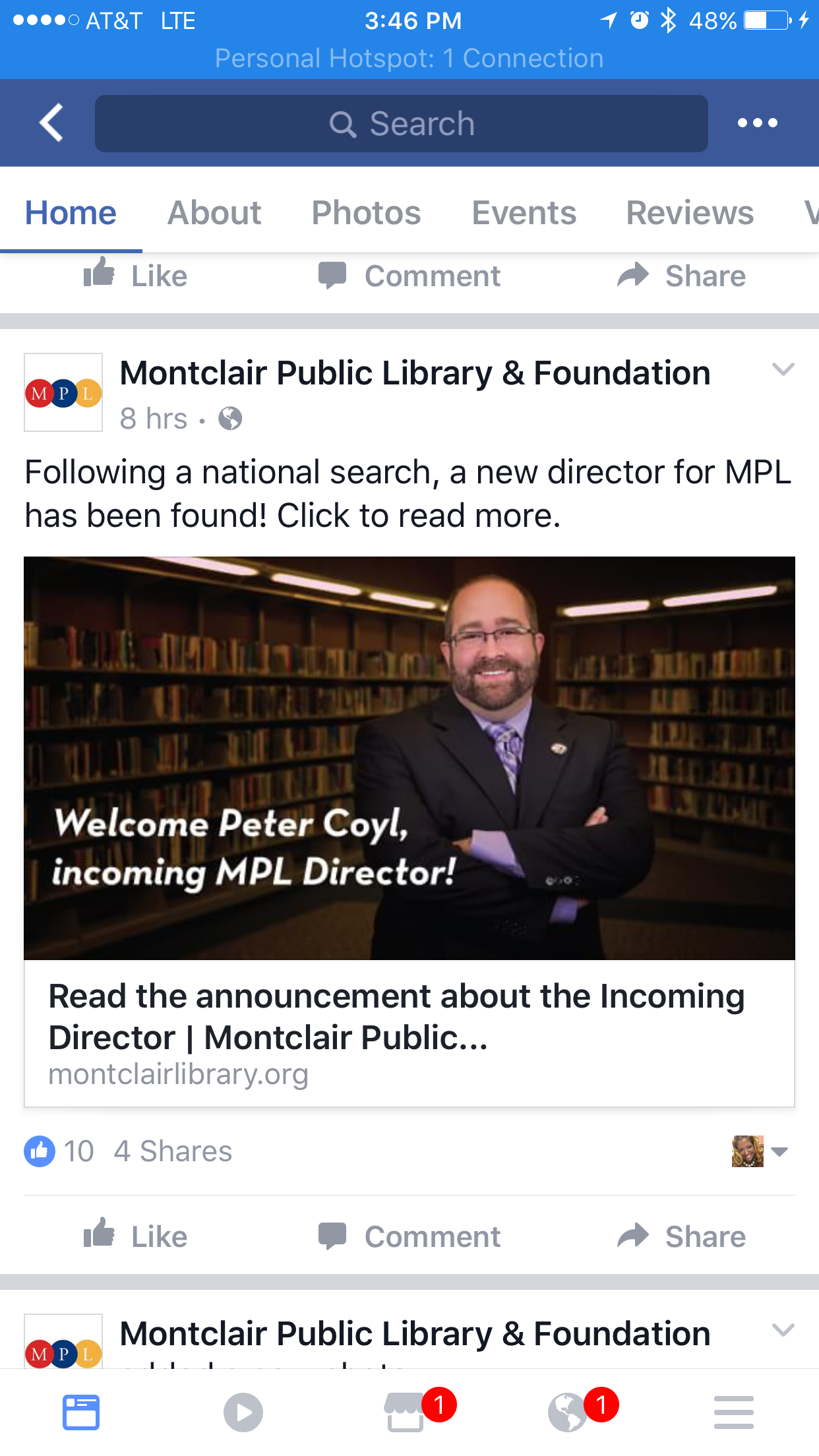 Montclair Library Selects New Director, After Launching National Search