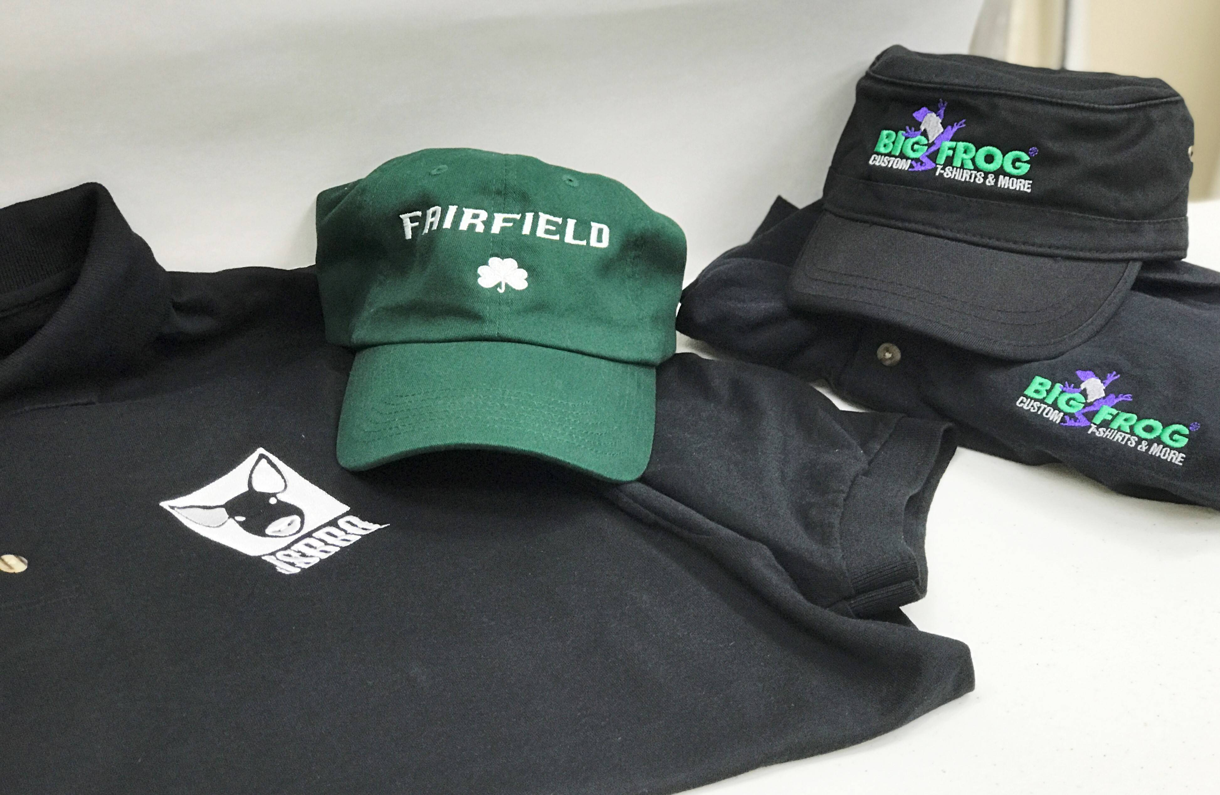 Big frog of belmar offering high quality embroidered for Big frog custom t shirts