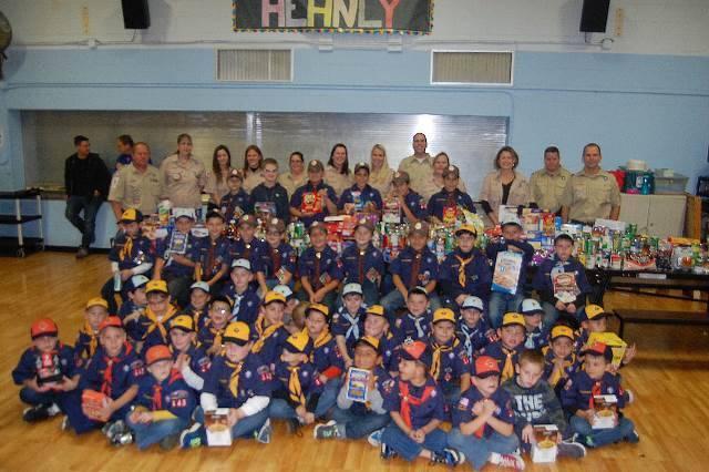 Greenwich Cub Scouts'