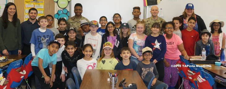 002490a52998313b7cd8_a_Sgts._James_Paska_and_Petrina_Brown_with_Mrs._Murawski_and_Mrs._Carlucci_s_4th_grade_class_at_Woodmont__2018_TAPinto_Montville.JPG