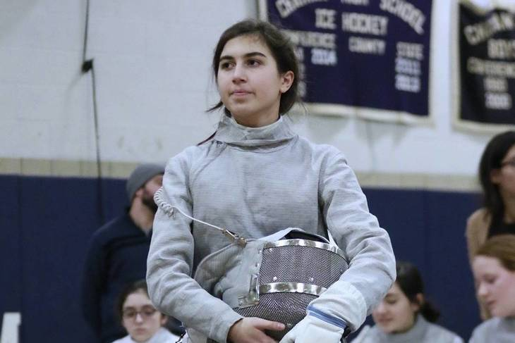 Chatham Fencers Yen Pompeo Named To All State Team