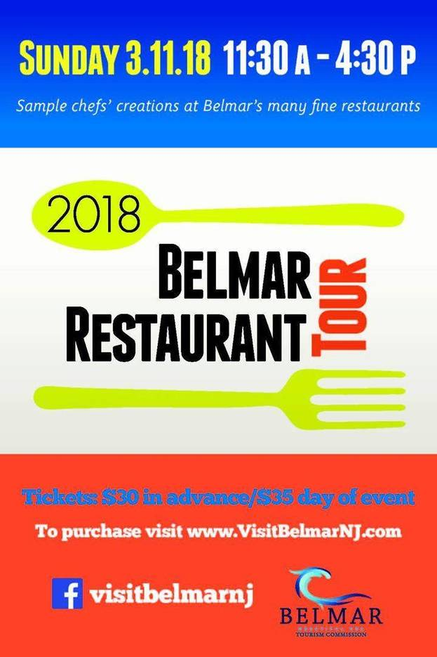 Belmar Nj Restaurant Tour