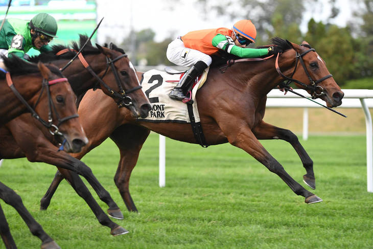 La Coronel stays ideal at Keeneland in QEII Challenge