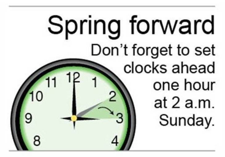 The History of Daylight Saving Time; Clock Change Begins on Sunday ...