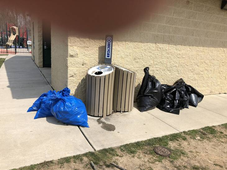 032f57222cca3866c6c3_April_12_2018_-_3_Bags_of_Recyclables_and_6_Bags_of_Trash.jpeg