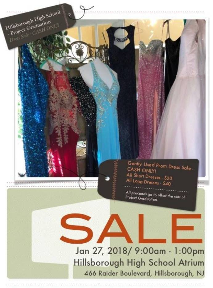 Hillsborough\'s Project Graduation Sells Prom Dresses - TAPInto