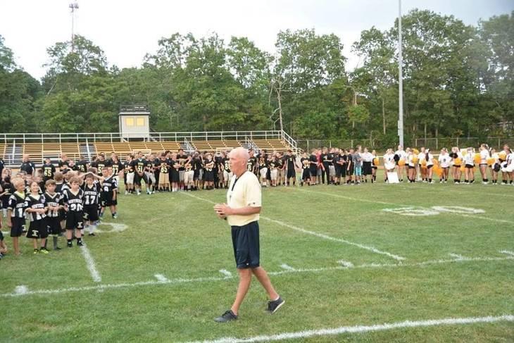 Coach Donohue Sr And Southern Regional Football Program