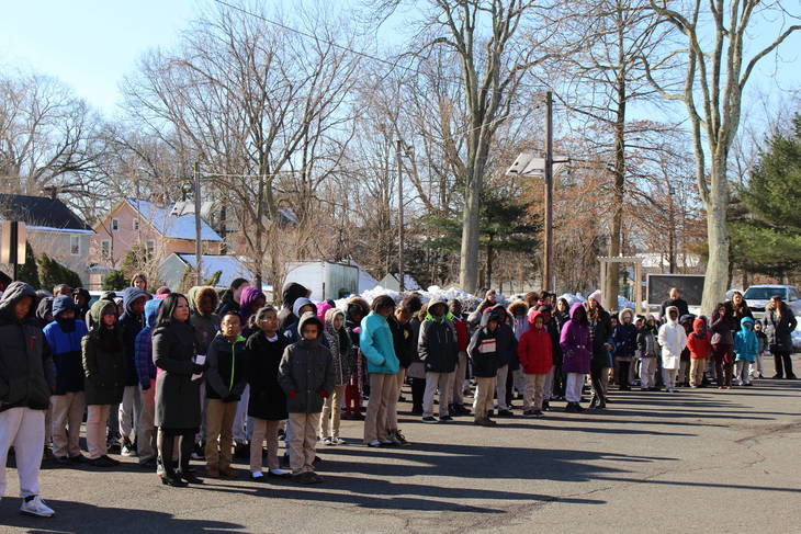Queen City Academy Charter School Participates in National School Walkout Day