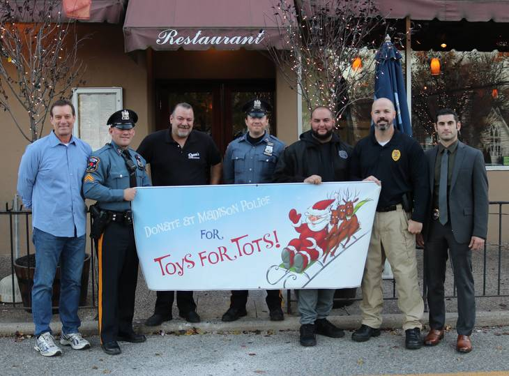 Police Toys For Tots 2017 : Madison florham park pba to host toys for tots