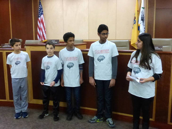 Livingston Robotics Club's Team Promethio Presents Water Conservancy Project