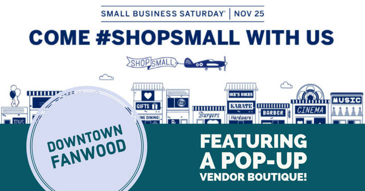 Small Business Saturday on tap