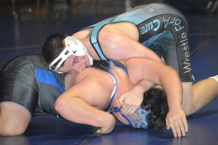 Wrestling: Westfield Defeats Scotch Plains-Fanwood in Annual Pin Cancer Match