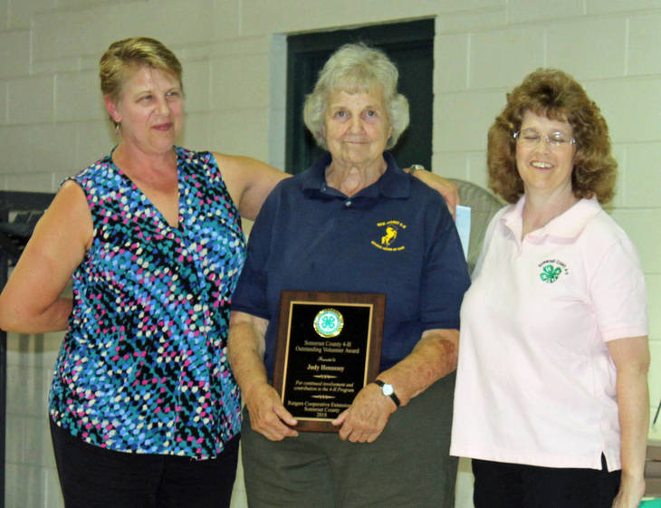 Horse Club Leader Honored By Somerset County 4-H Program