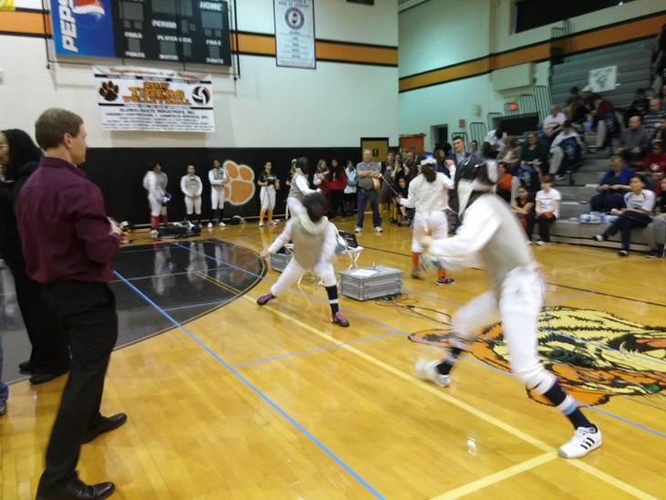 Chatham 39 S Yen Wins District 1 Sabre Fencing Championship
