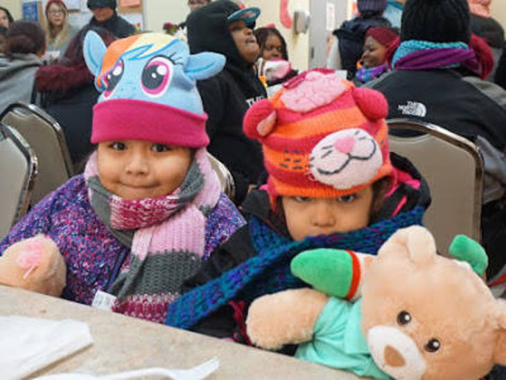 Another Joyful Holiday for Paterson Women and Children