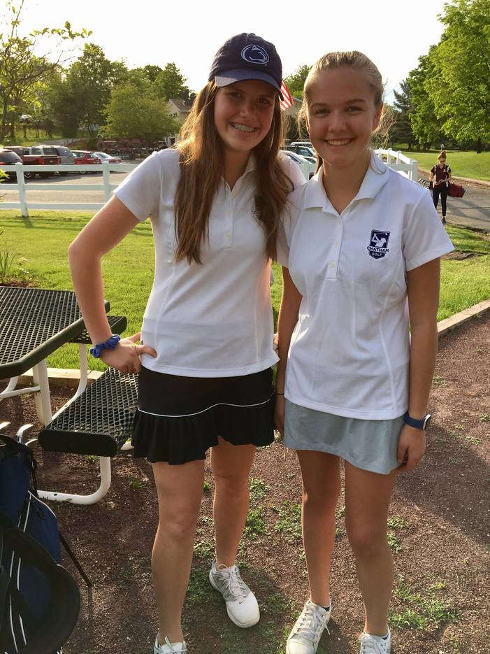 chatham girls golf posts best team score in season finale tapinto