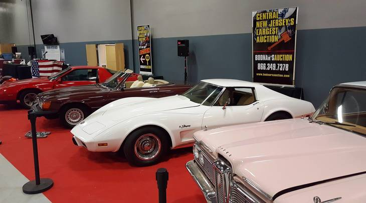 A 1976 Corvette Stingray 1985 Mercedes 380 SL And 1988 Camaro Will Be Sold By Bodnars Auctions On Saturday March 11 At The New Jersey Home Show NJ