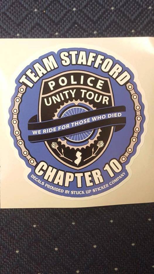 T-Shirts & Stickers on Sale to Support Stafford Police in