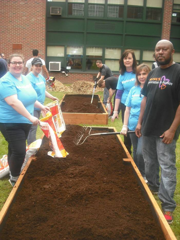 Passaic Valley High School Partners with Community for Beautification Projects