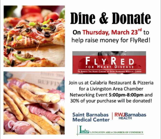 """Livingston Area Chamber of Commerce """"Dine & Donate"""" at ..."""