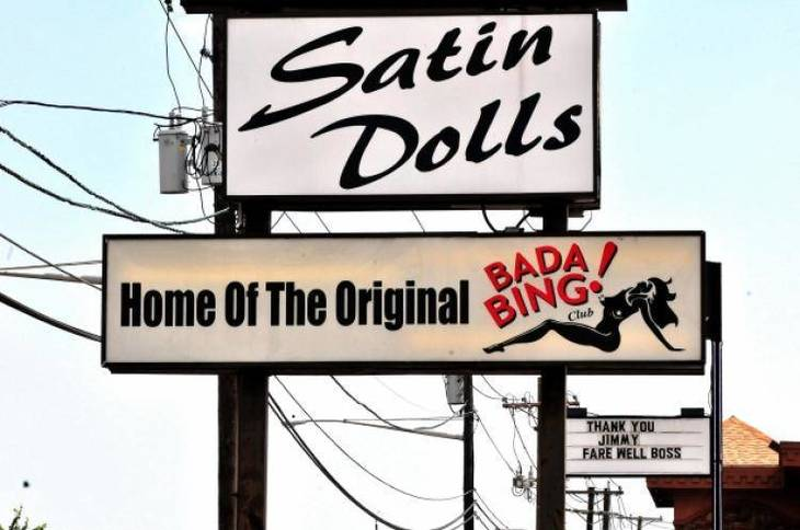 NJ orders shutdown of club that inspired 'The Sopranos' Bada Bing