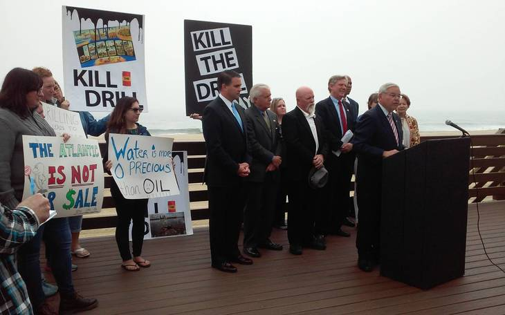 Belmar Is Backdrop For Lawmakers Who Pledge To Ban Offshore Oil And Gas Drilling South